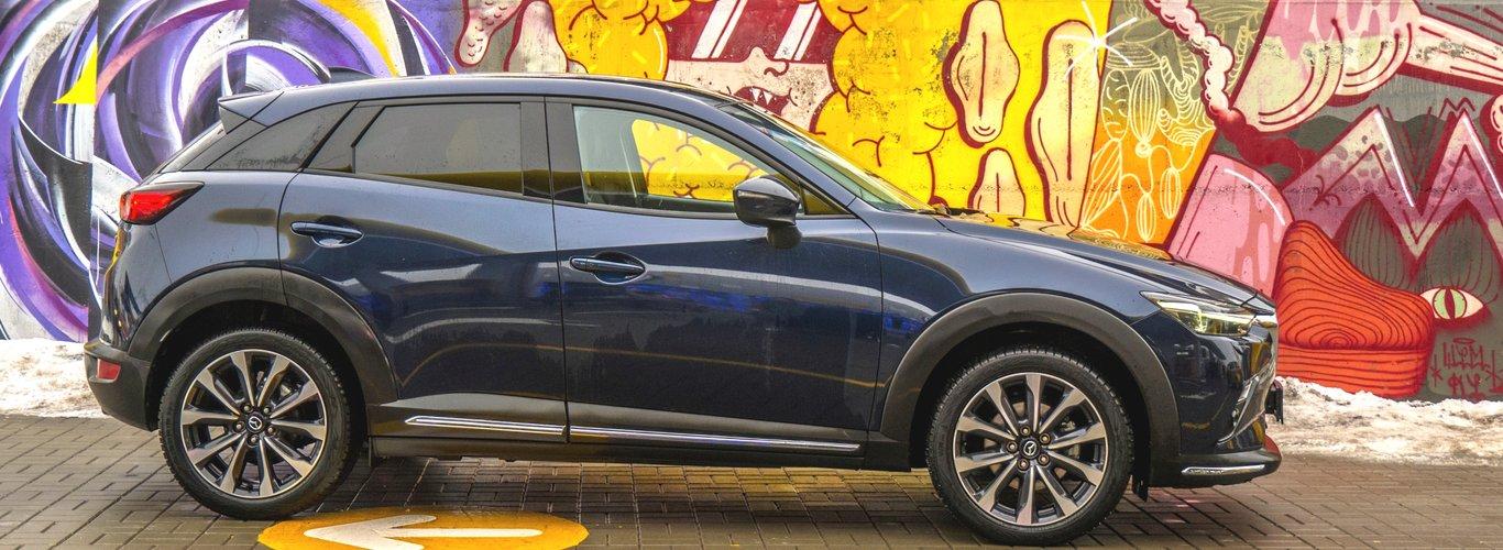 Mazda CX-3: тест-драйв за 24 параметрами