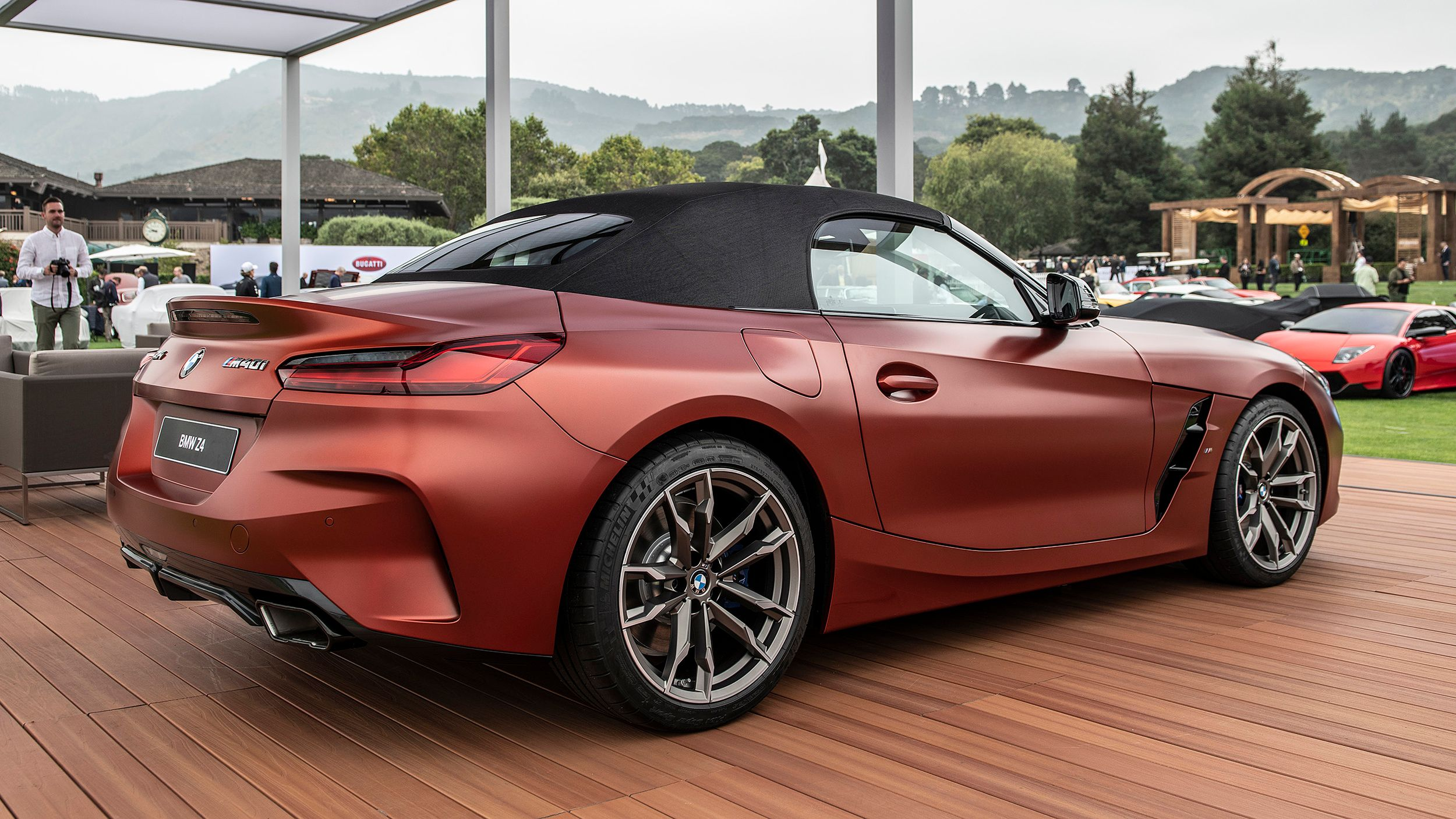 Bmw Z4 M40i Roadster First Edition показали в Пеббл Бич