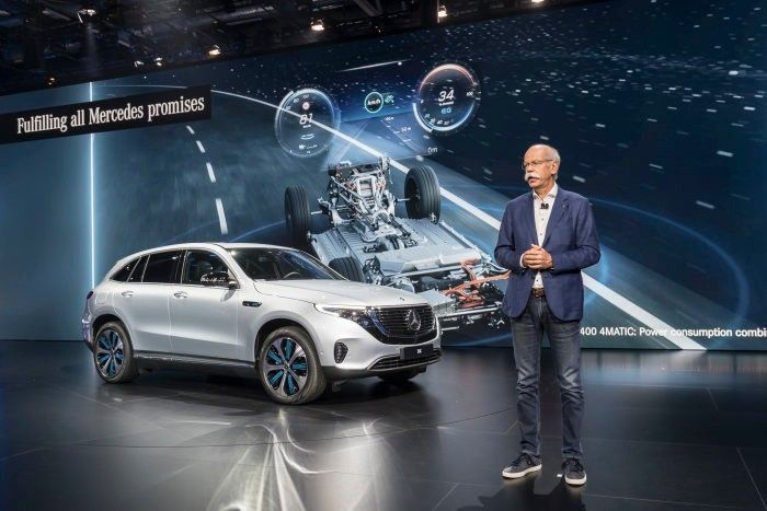 все будет электро Mercedes в париже Auto24