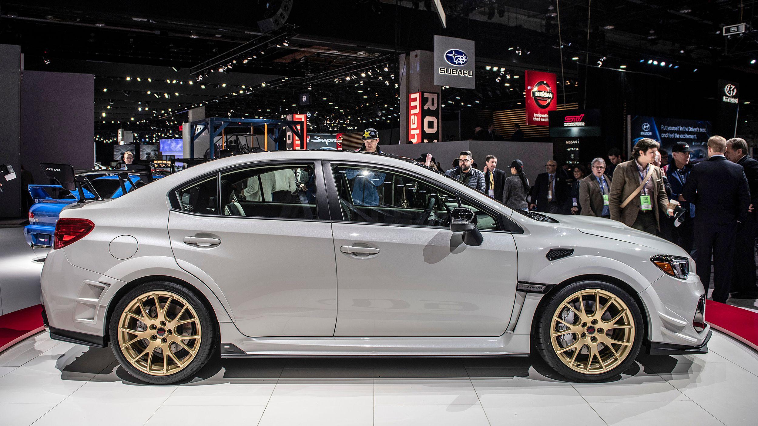 340-сильна Subaru WRX STI S209 дебютувала у Детройті