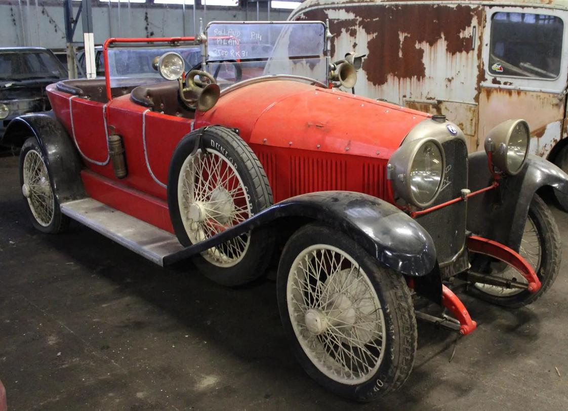 Lamborghini Miura та 80 рідкісних авто знайшли на старому заводі