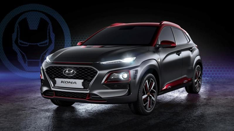 Hyundai Kona Iron Man Edition: для фанатів Marvel
