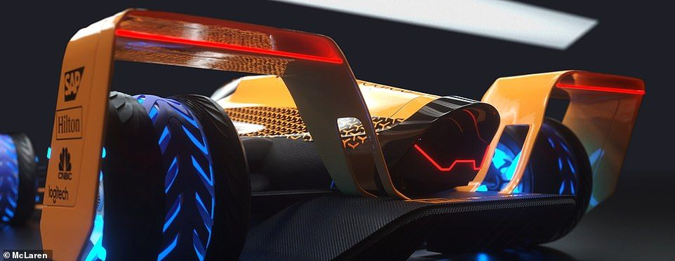 McLaren MCLExtreme: народжений у 2050 році