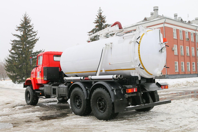 КрАЗ експортує спецмашини до Грузії: фото