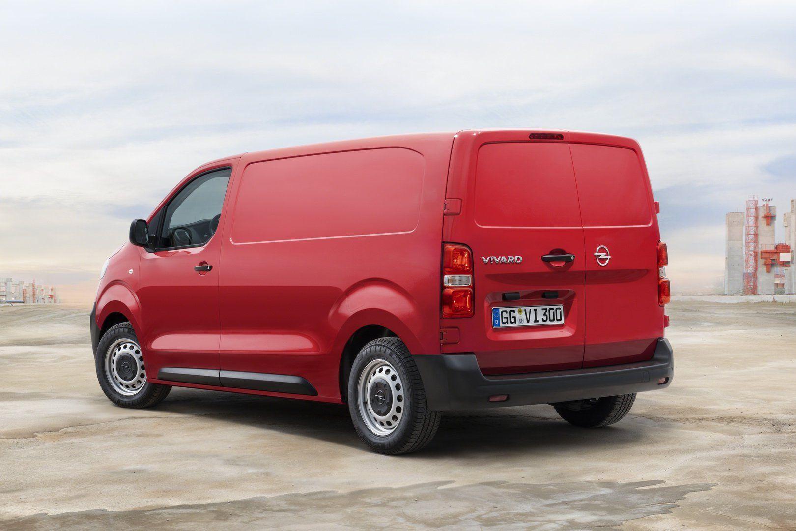 Новий Opel Vivaro узяв курс на електрифікацію