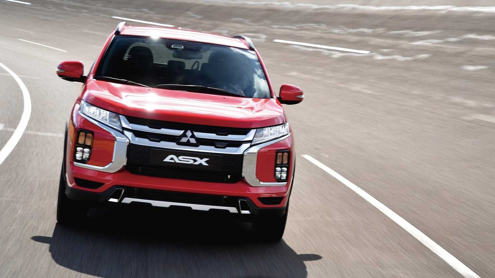 Mitsubishi представила оновлений компактний кросовер ASX 2020