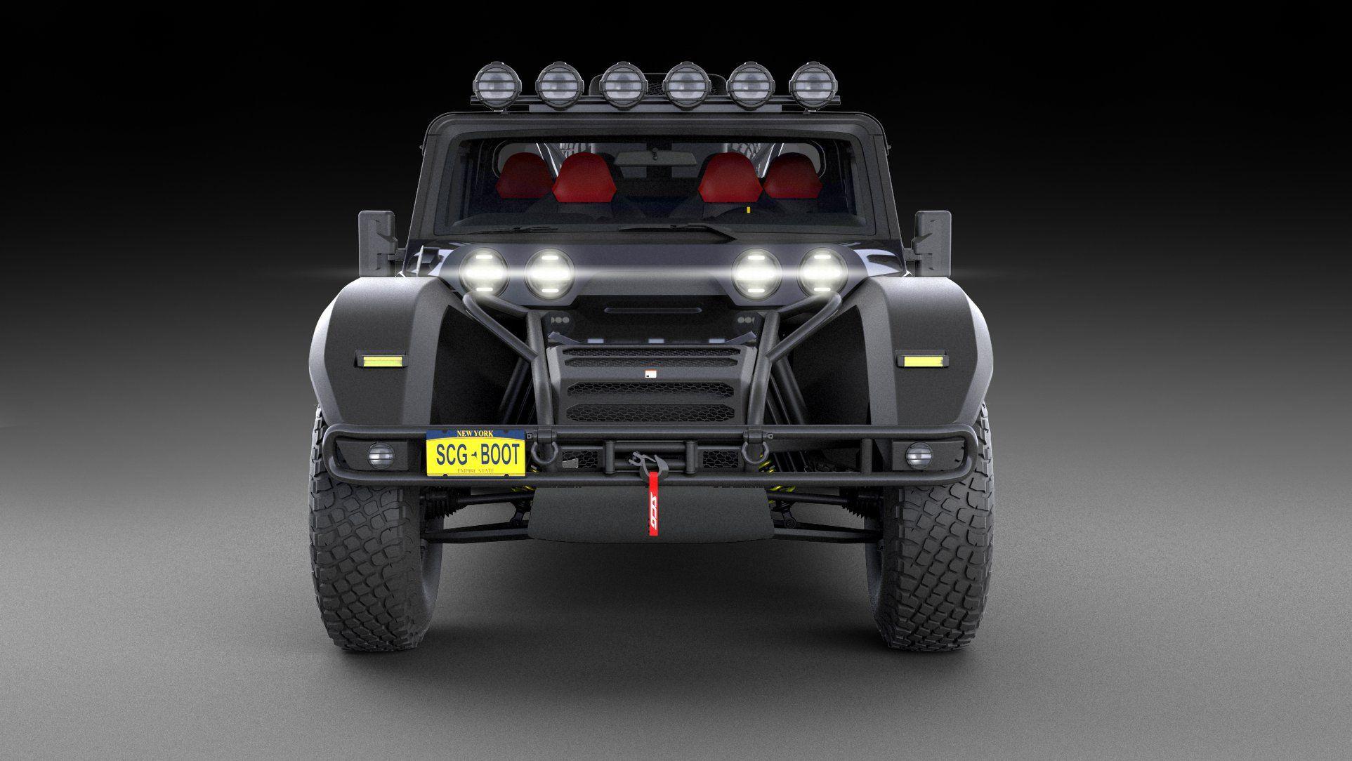 Глікенхаус показав свій супер-позашляховик SCG Baja Boot
