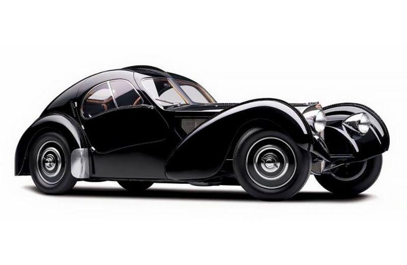 Bugatti готує реінкарнацію легендарного купе Type 57 SC Atlantic