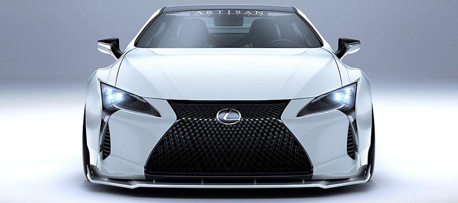 """Купе Lexus LC """"на стероїдах"""" отримало більше потужності, ніж у суперкара Lexus LFA"""