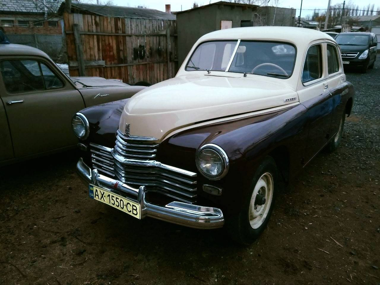 В Харкові відновили рідкісний ретро-автомобіль