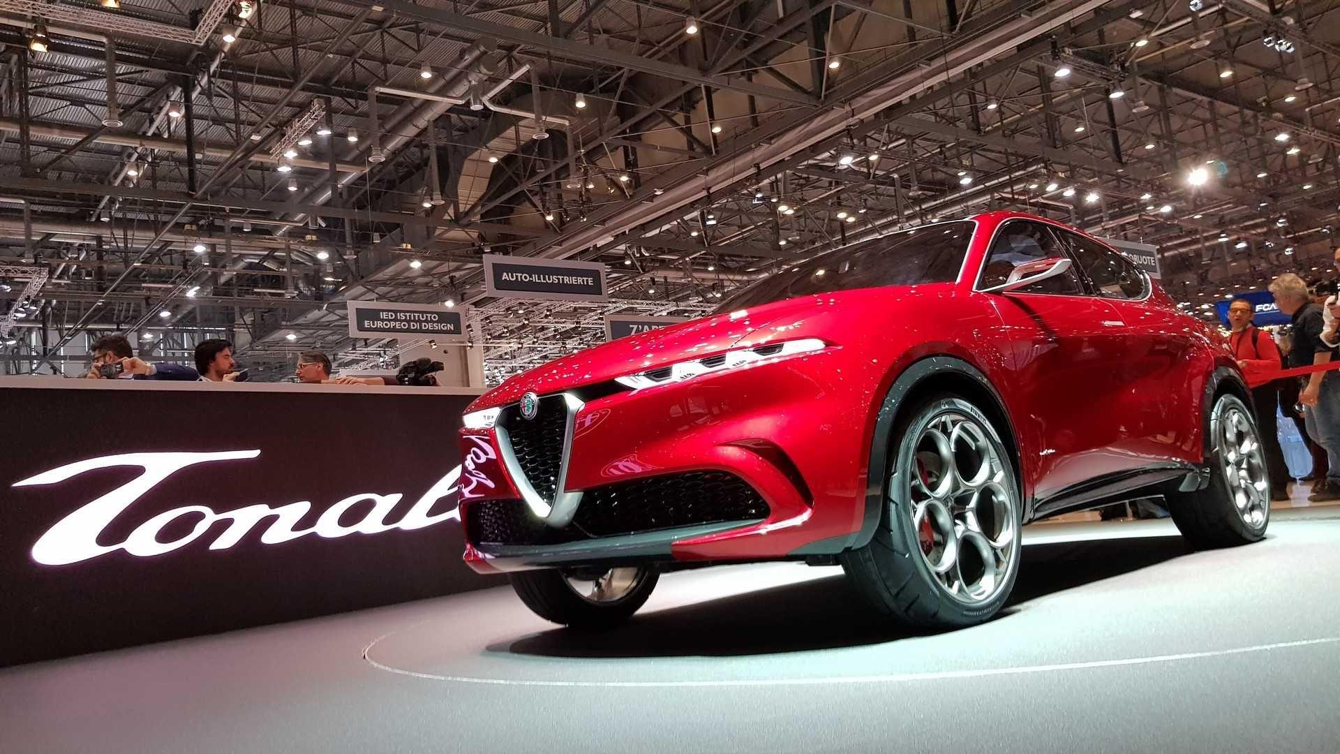 Alfa Romeo Tonale: молодший брат Stelvio