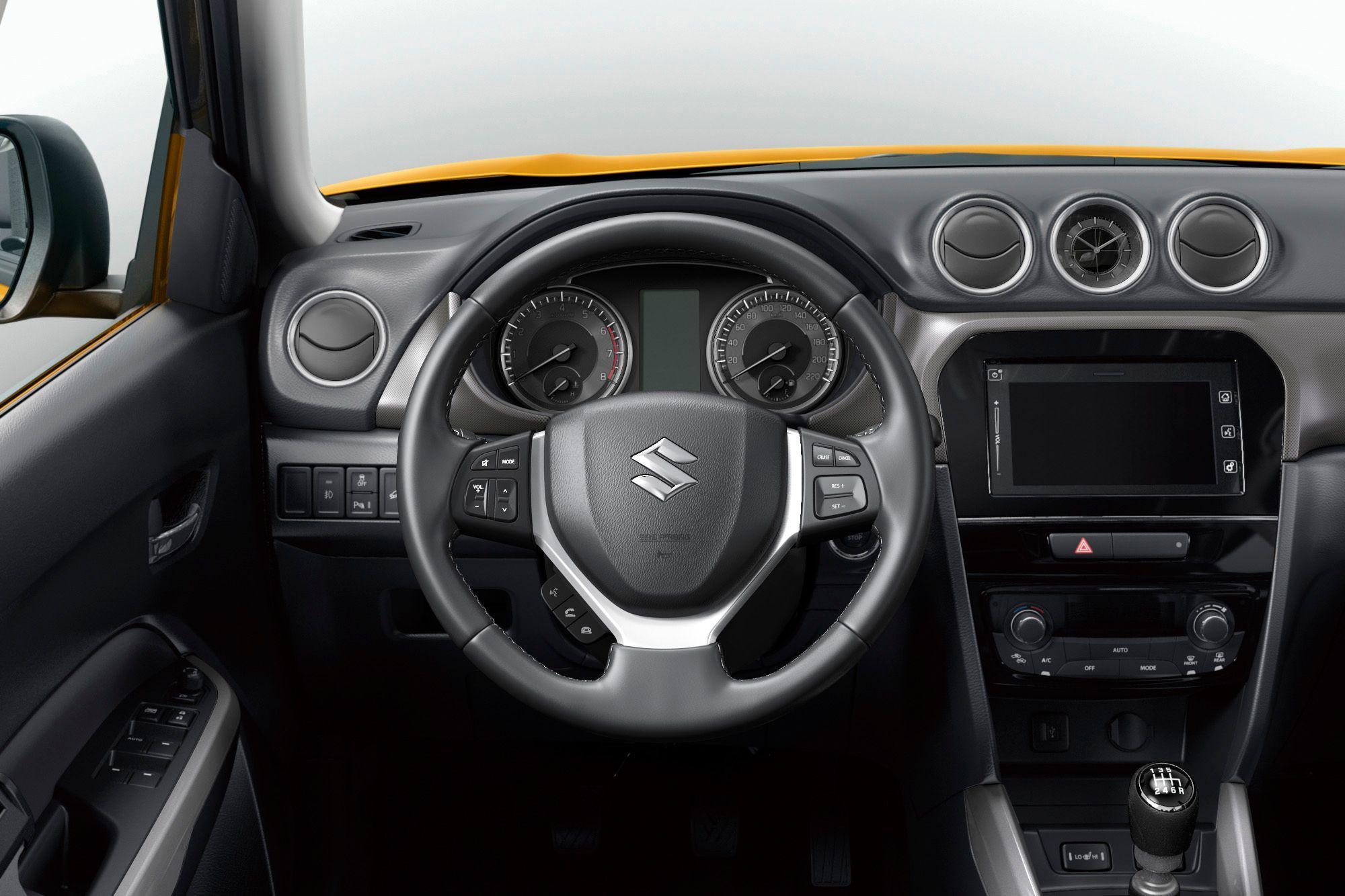 Тест-драйв Suzuki Vitara 1.0: літр на трьох