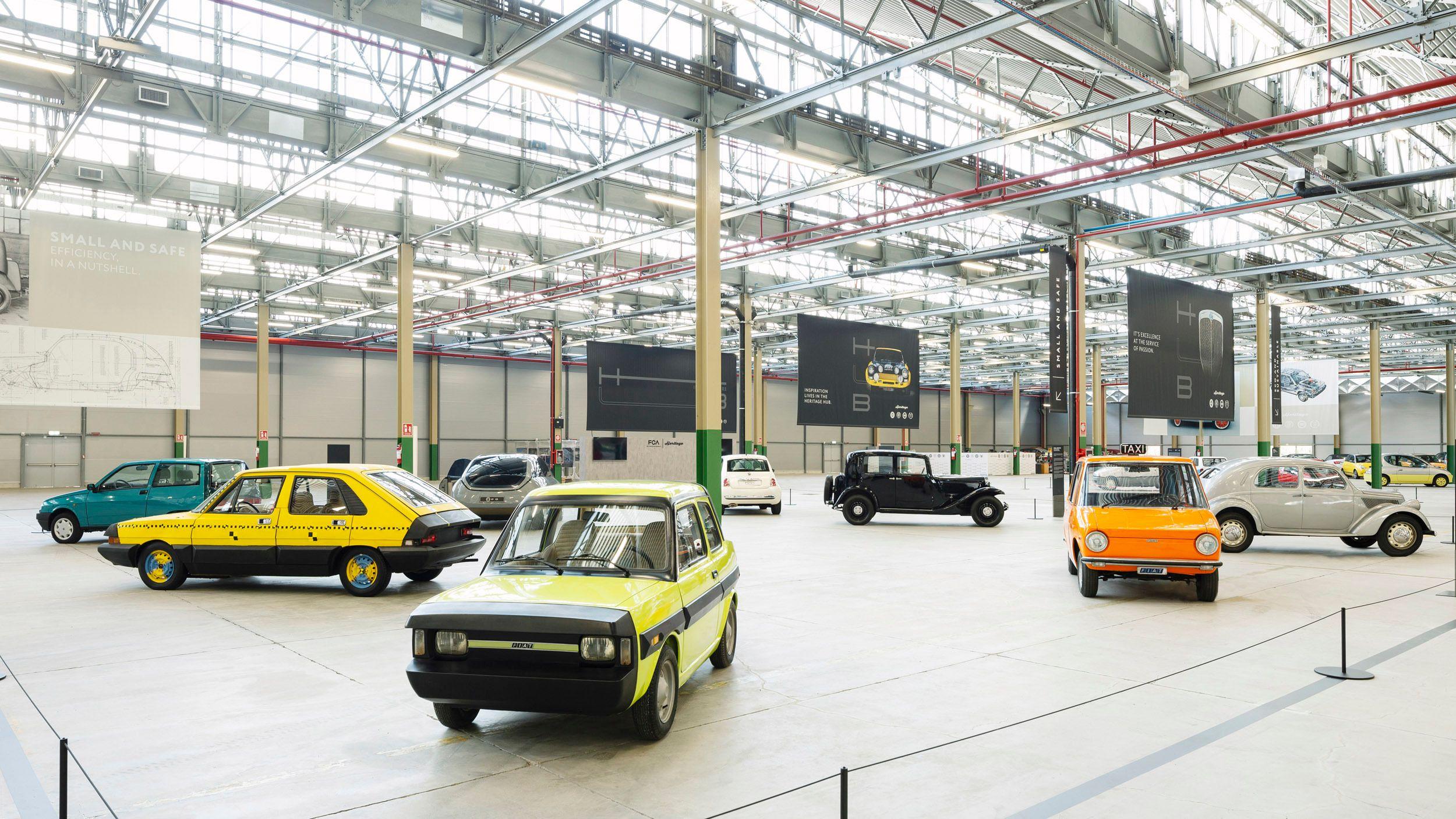 45 фото і відео з нового музею, де зібрано 250 рідкісних і унікальних Fiat, Lancia та Alfa Romeo