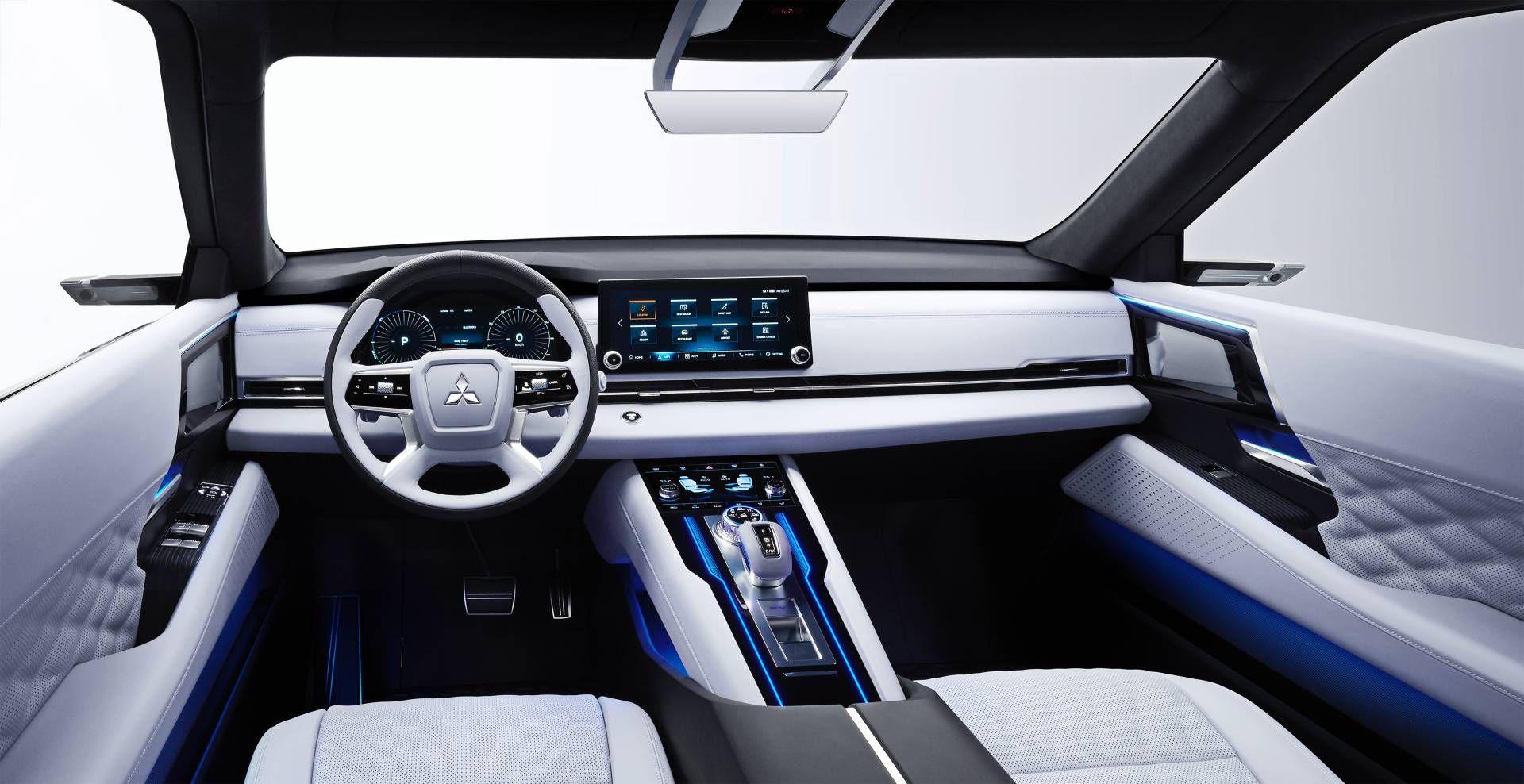 Mitsubishi перейменувала електрокросовер Engelberg Tourer для дебюту у Шанхаї