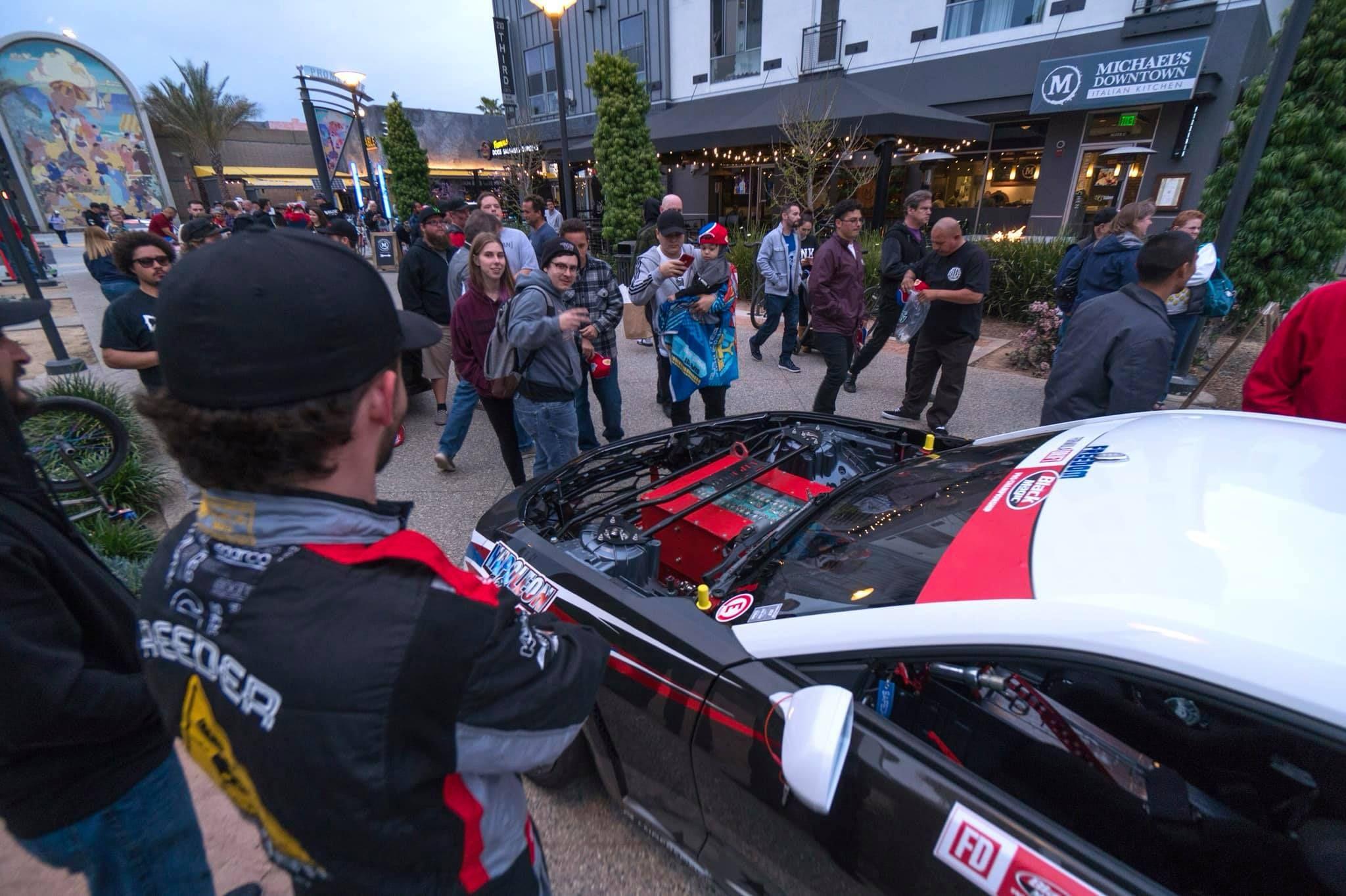 """Такого ще не було: у серії Formula Drift виступатиме електричний """"корч"""" Chevrolet Camaro EL1"""