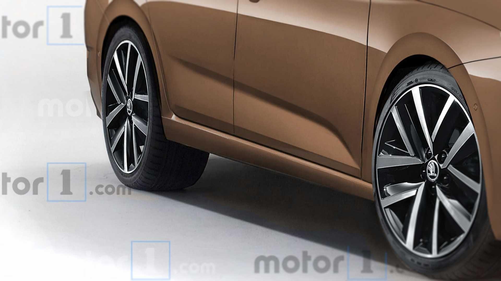 Ось як може виглядати нова Skoda Octavia 2020
