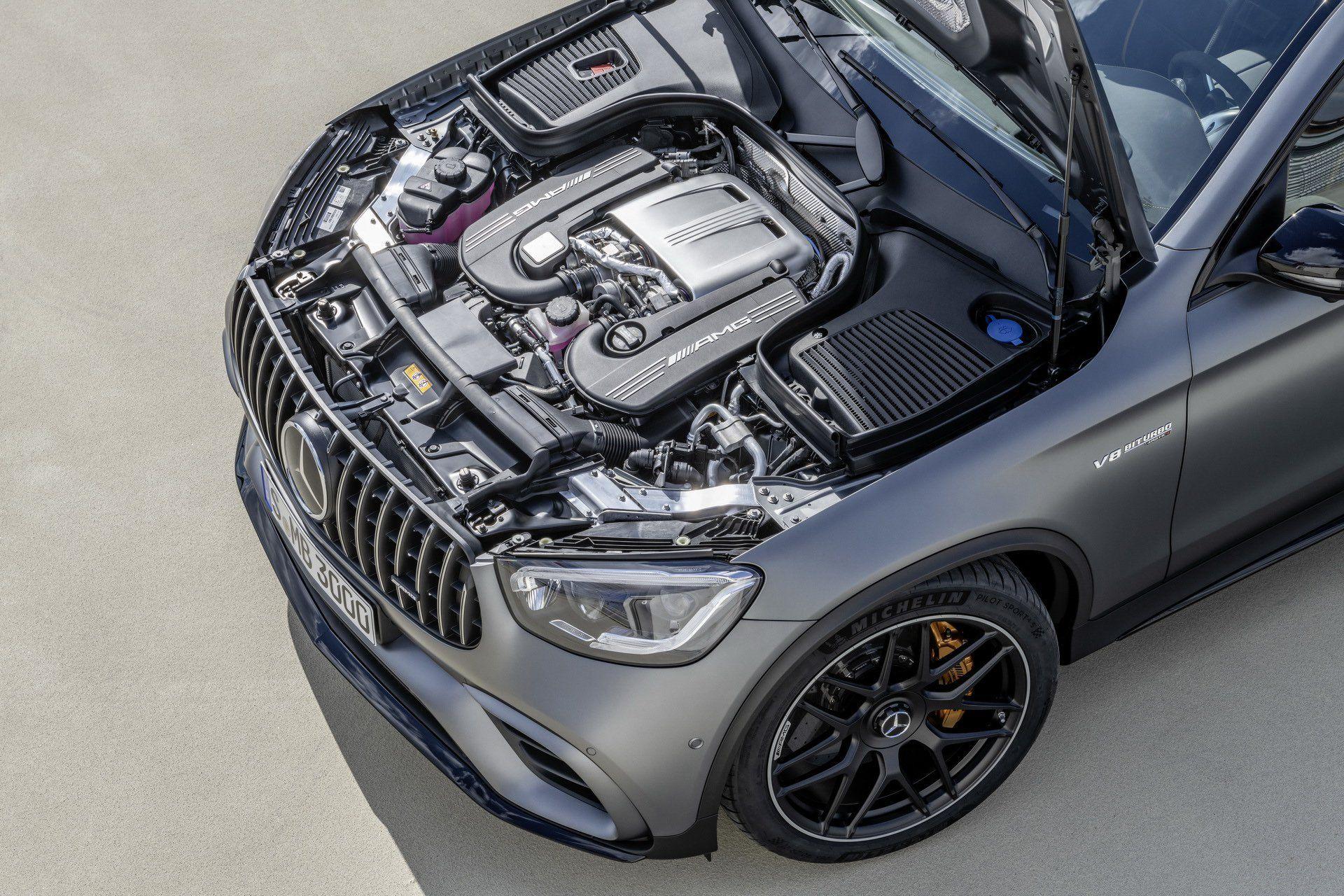Mercedes-AMG GLC 63 та GLC 63 Coupe представили у Нью-Йорку