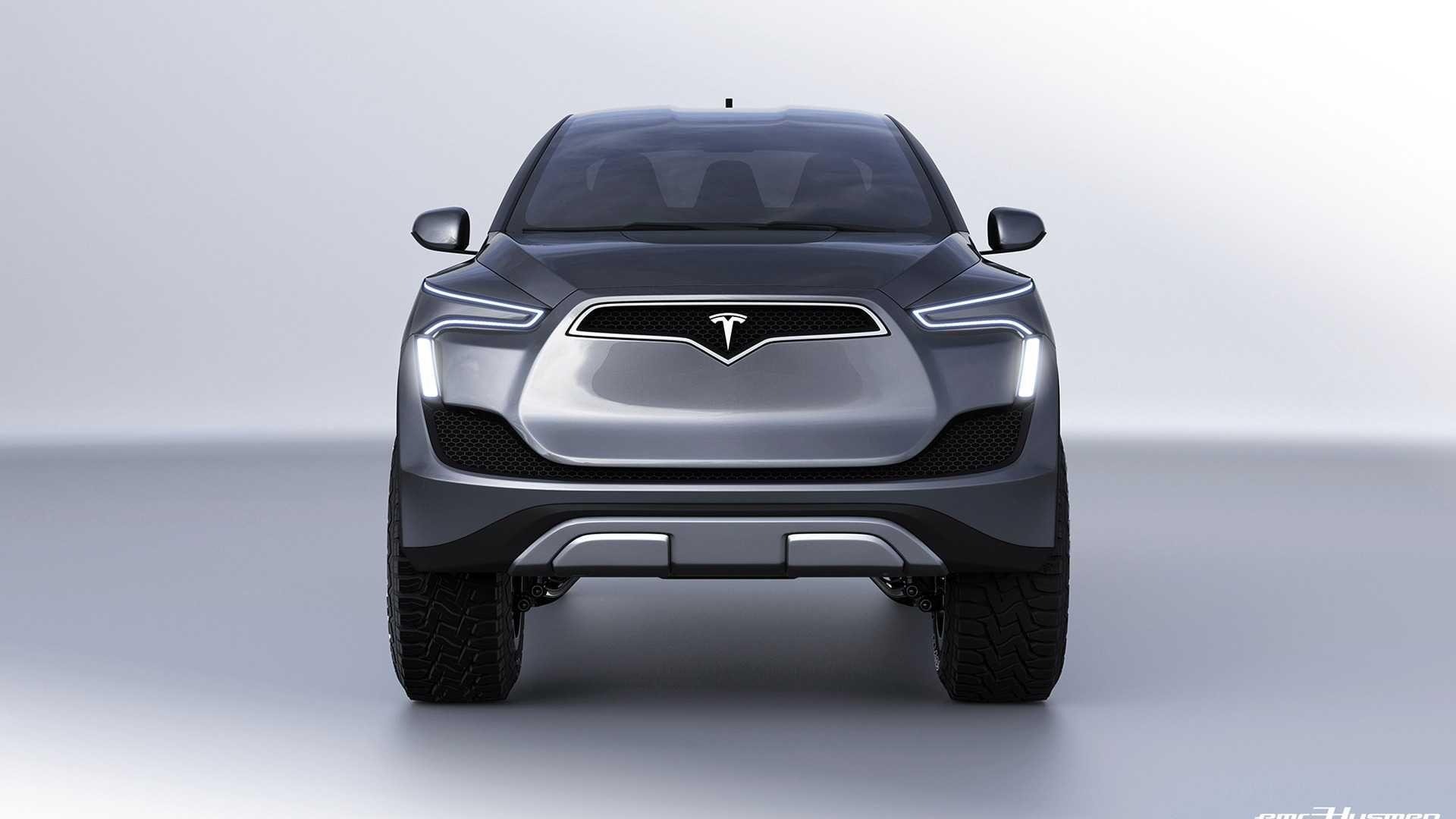 Tesla Model P: наскільки реалістичні ці рендери?