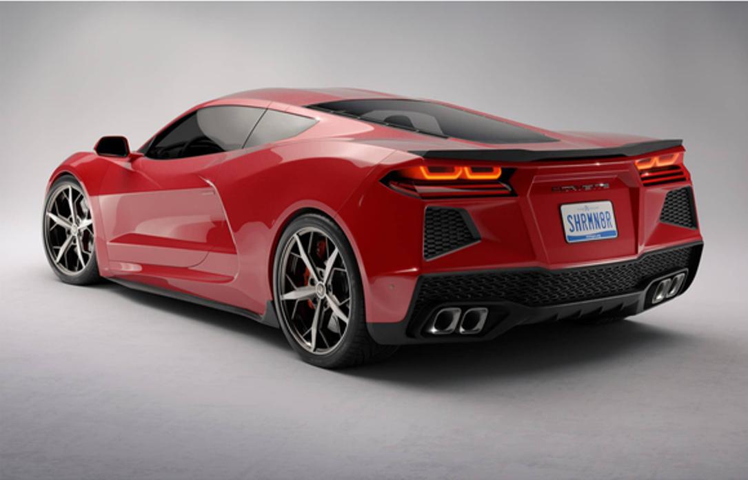Chevrolet представил логотип для среднемоторного Corvette ...