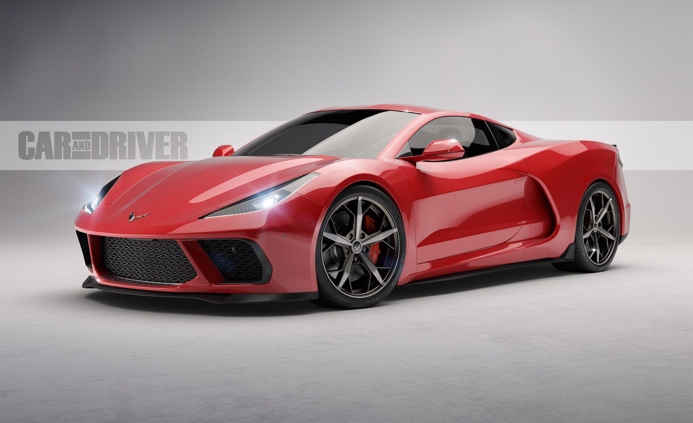 Chevrolet представив логотип для середньомоторного Corvette