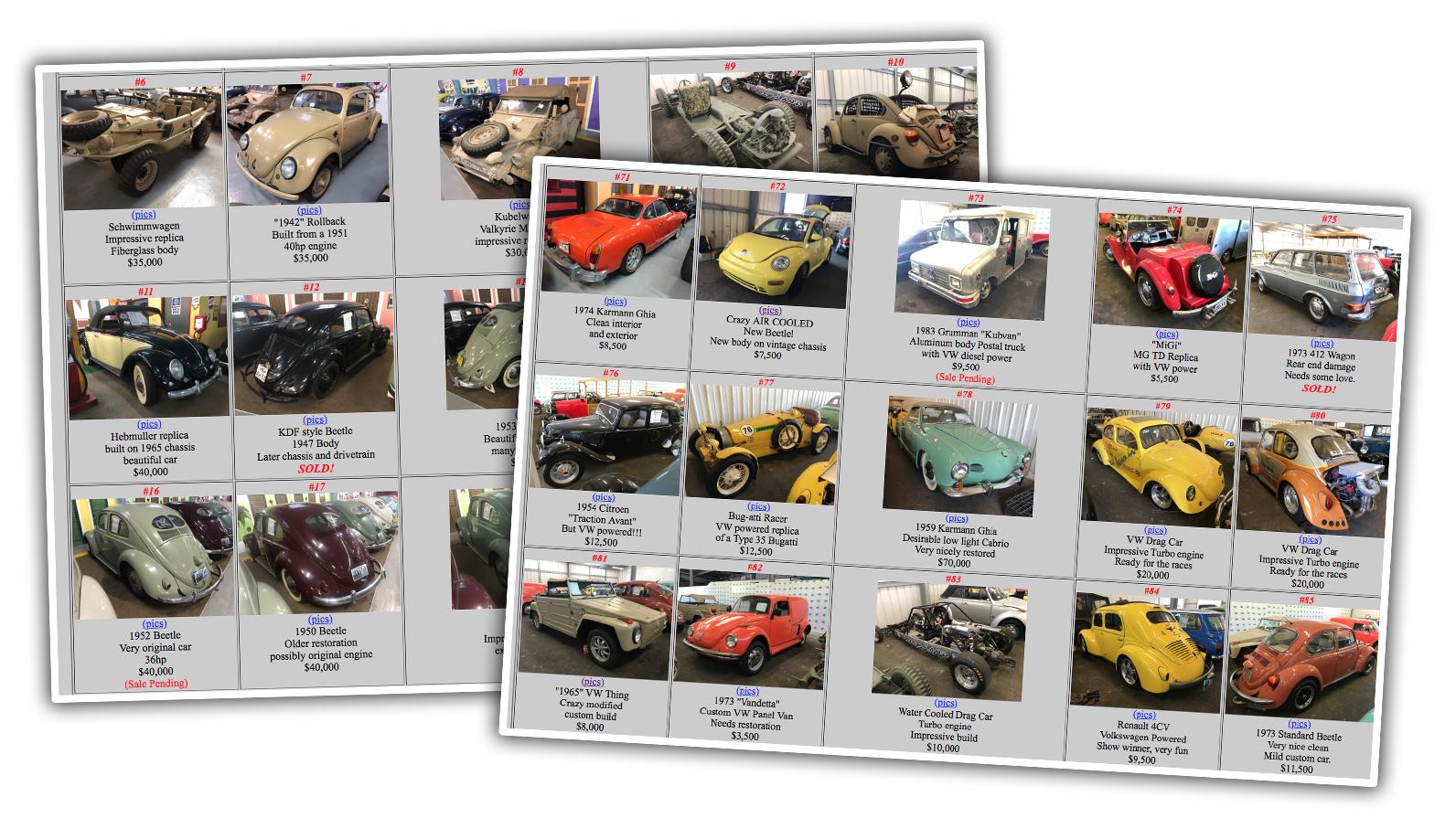 Музей Volkswagen розпродує усі свої експонати – унікальні й рідкісні моделі з повітряним охолодженням