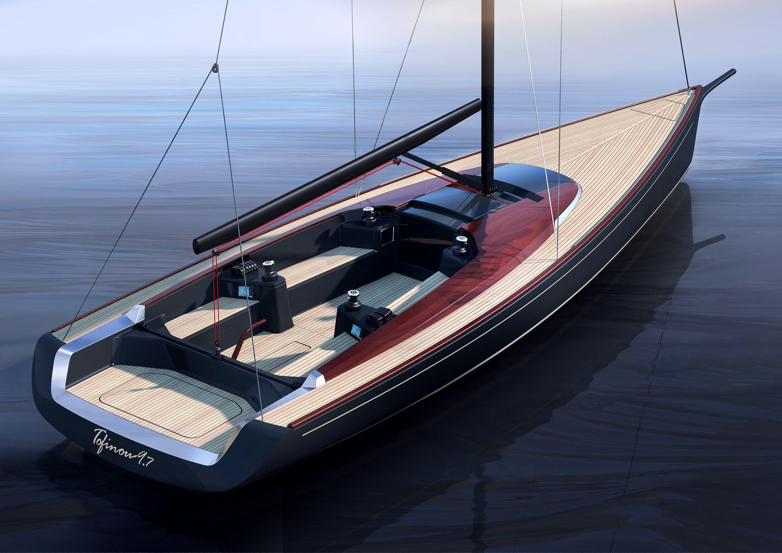 Peugeot Design Lab та Latitude 46 створили десятиметровий вітрильник