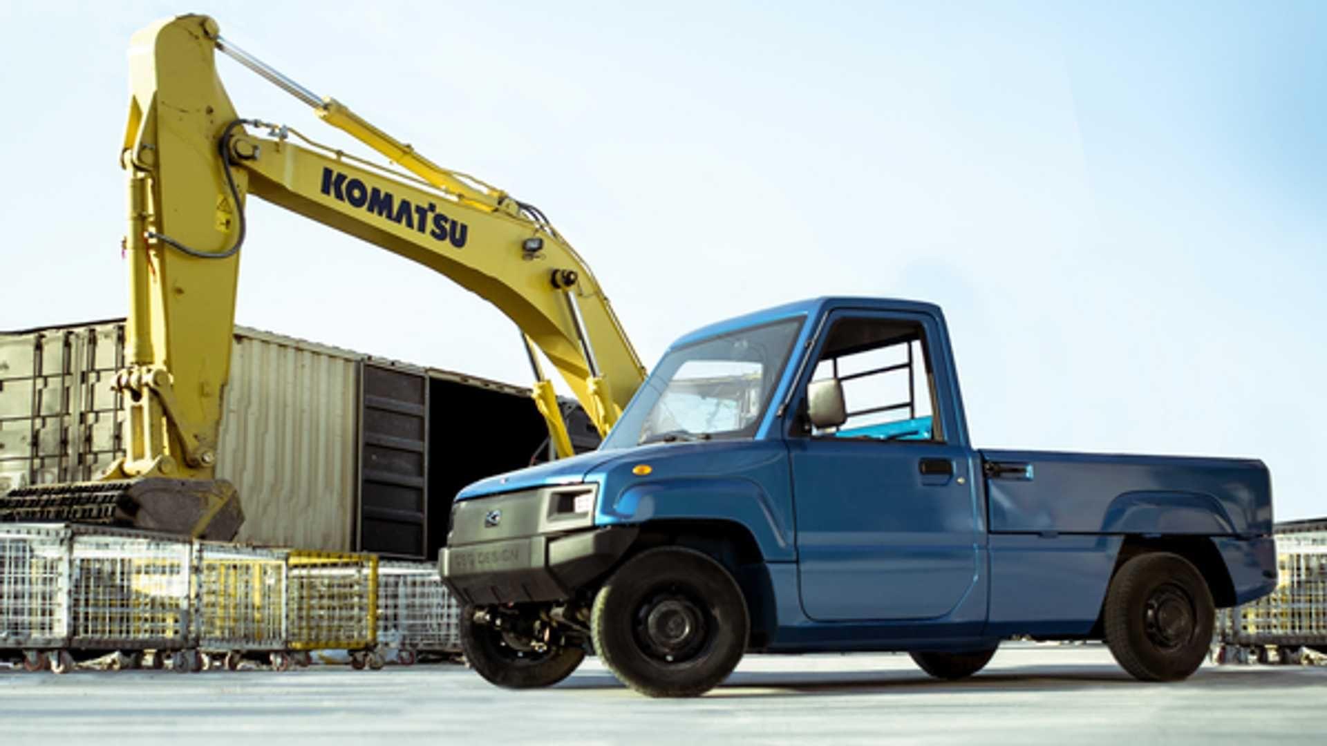 Цей мініатюрний пікап може перевозити до тонни вантажу і коштує менше 6 тисяч доларів