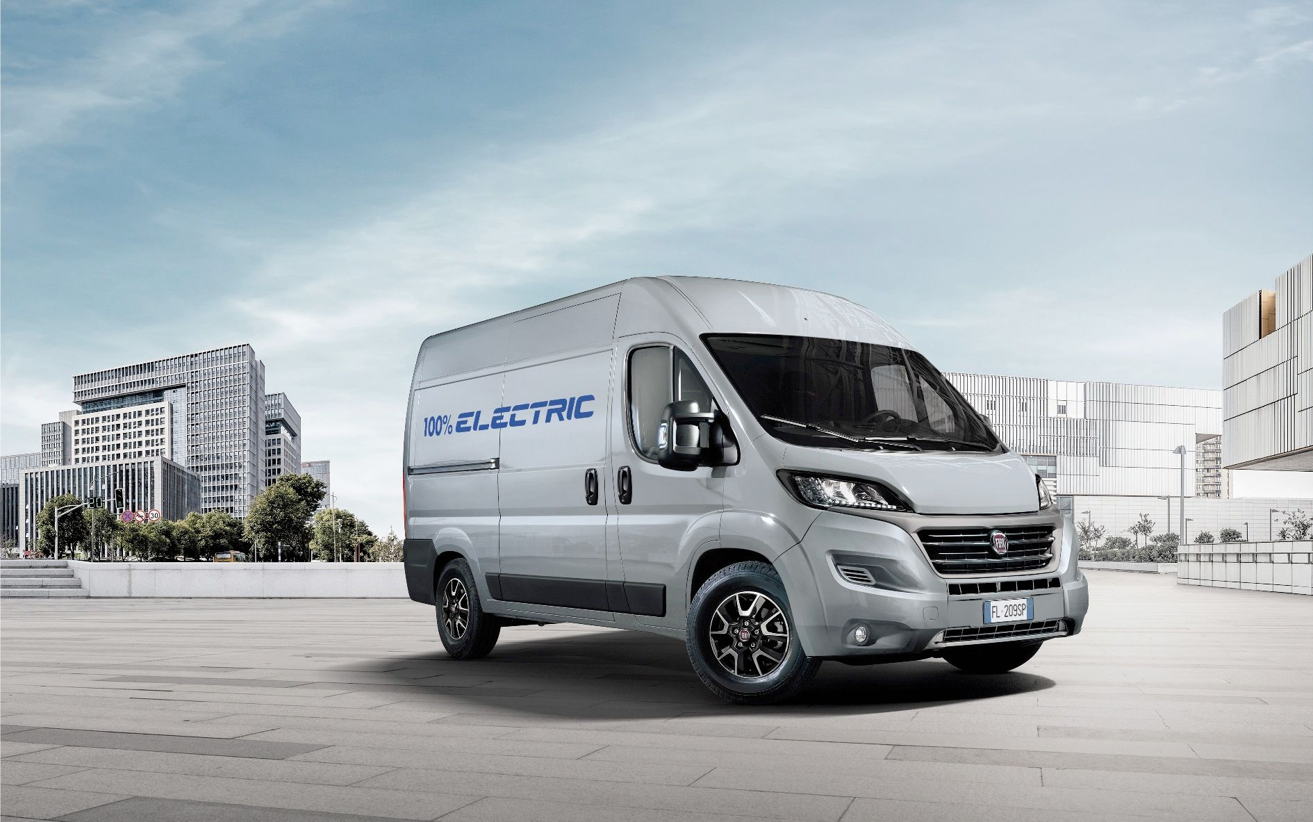 Экстерьер Fiat Ducato Electric