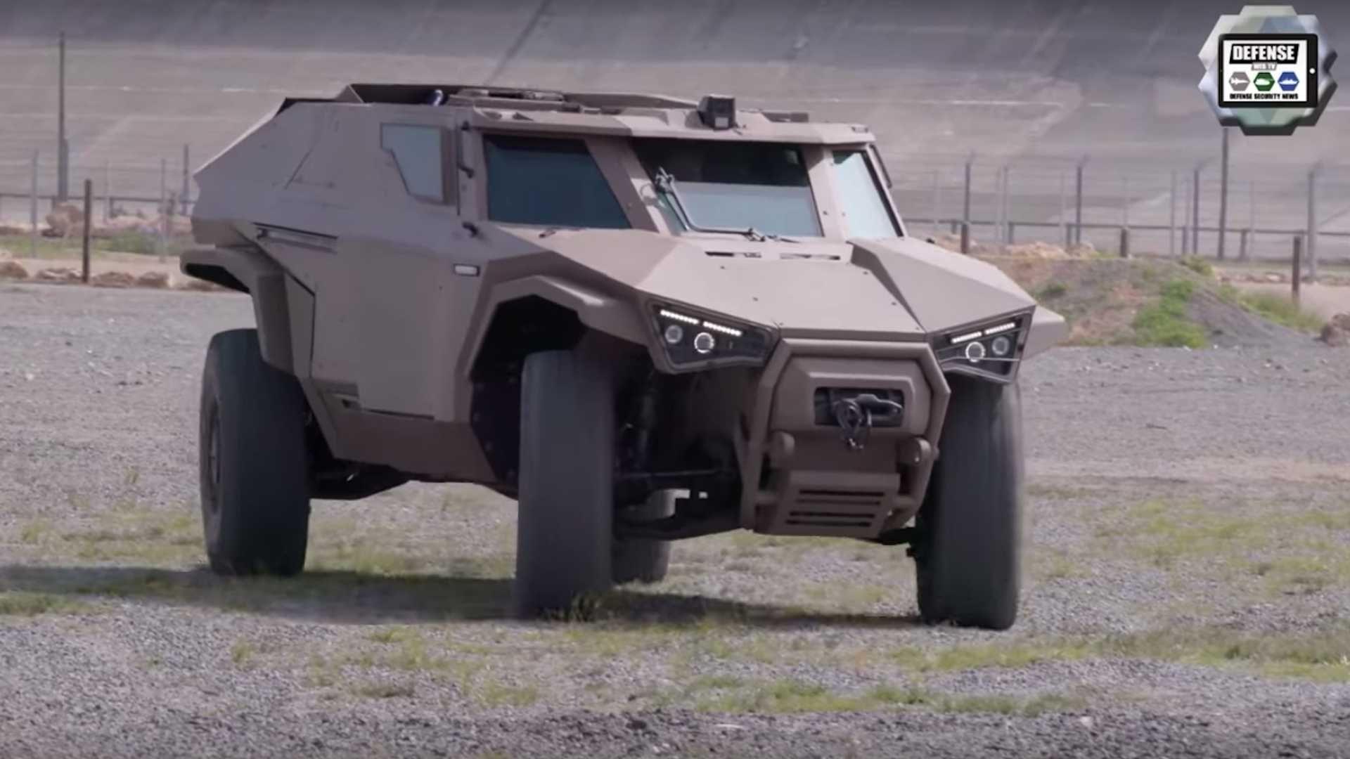 Arquus Scarabee: бронеджип від Volvo показали на відео