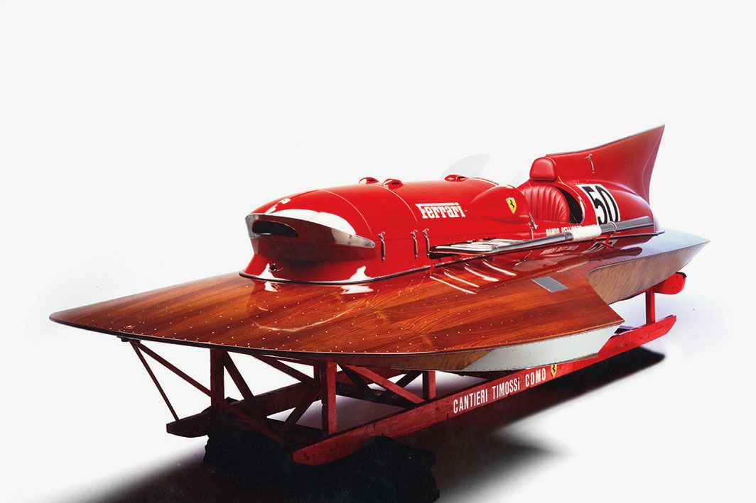 Суперчовен з двигуном Ferrari 1952 року виставлено на аукціон