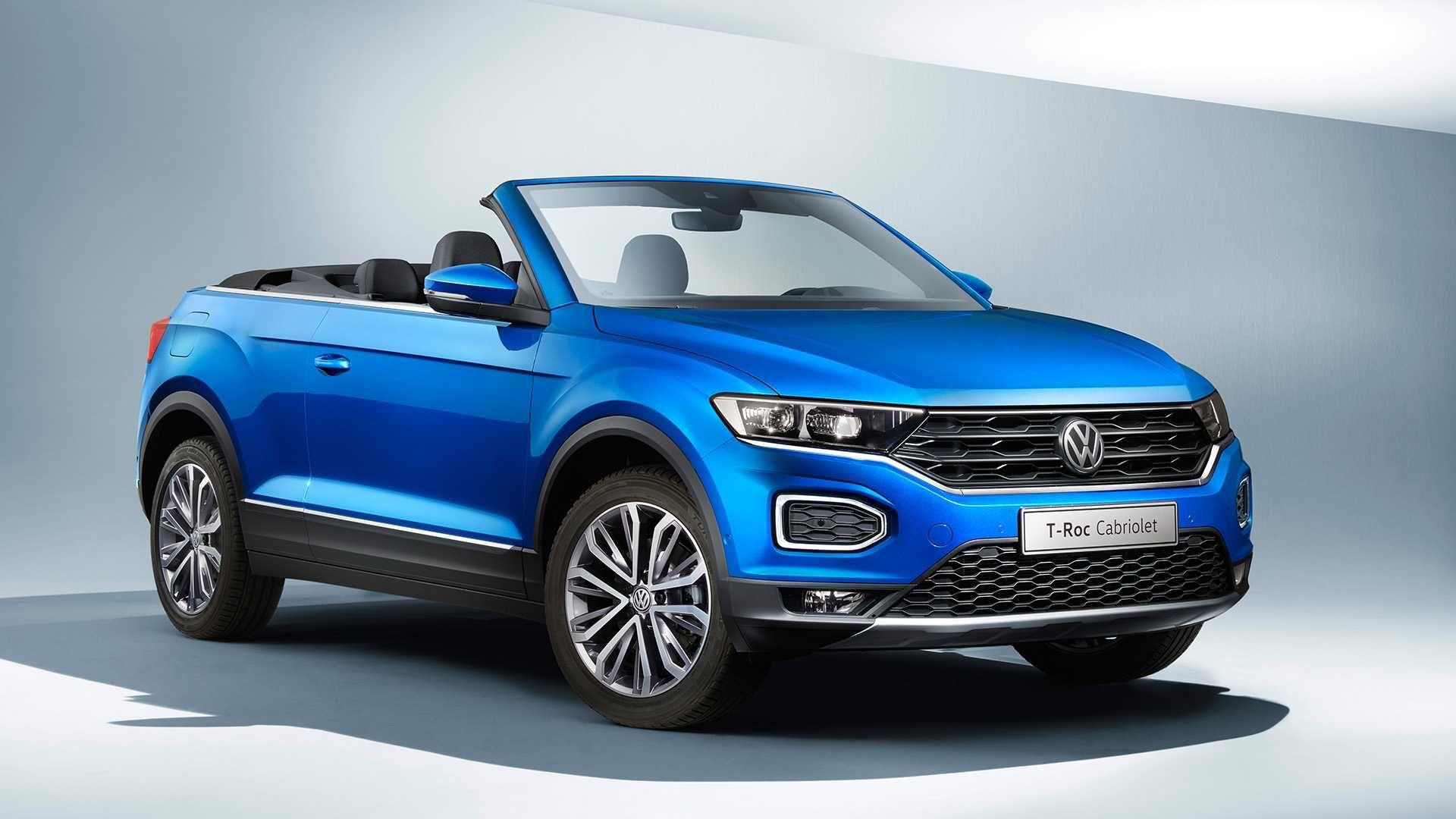 Volkswagen офіційно представив кросовер-кабріолет T-Roc