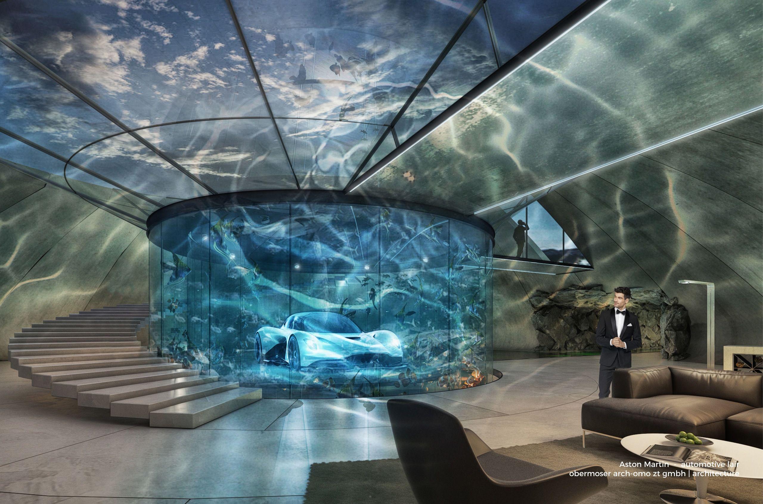 Aston Martin пропонує покупцям своїх машин дизайнерські гаражі