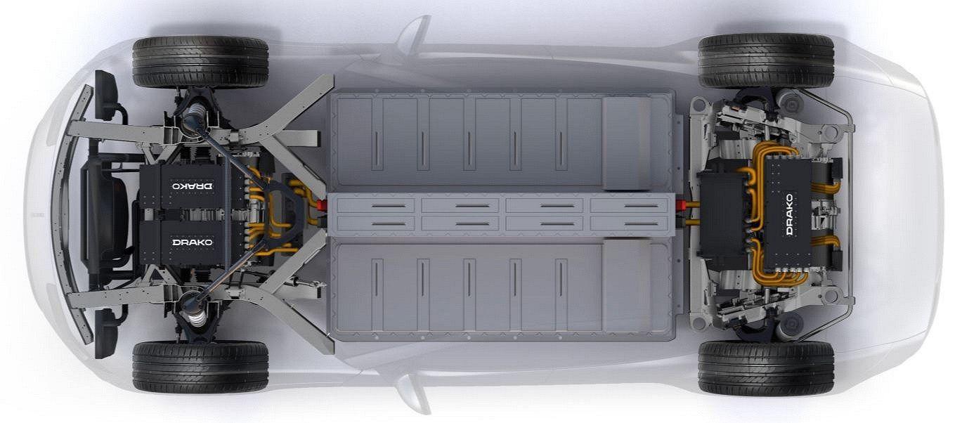 Електричний дракон: Draco GTE став першим чотиридверним гіперкаром