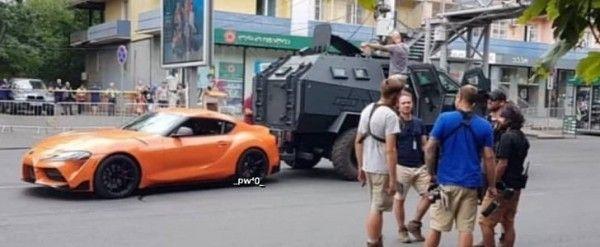 """Жовтогарячу Toyota Supra помітили на зйомках """"Форсаж 9"""" (фото, відео)"""
