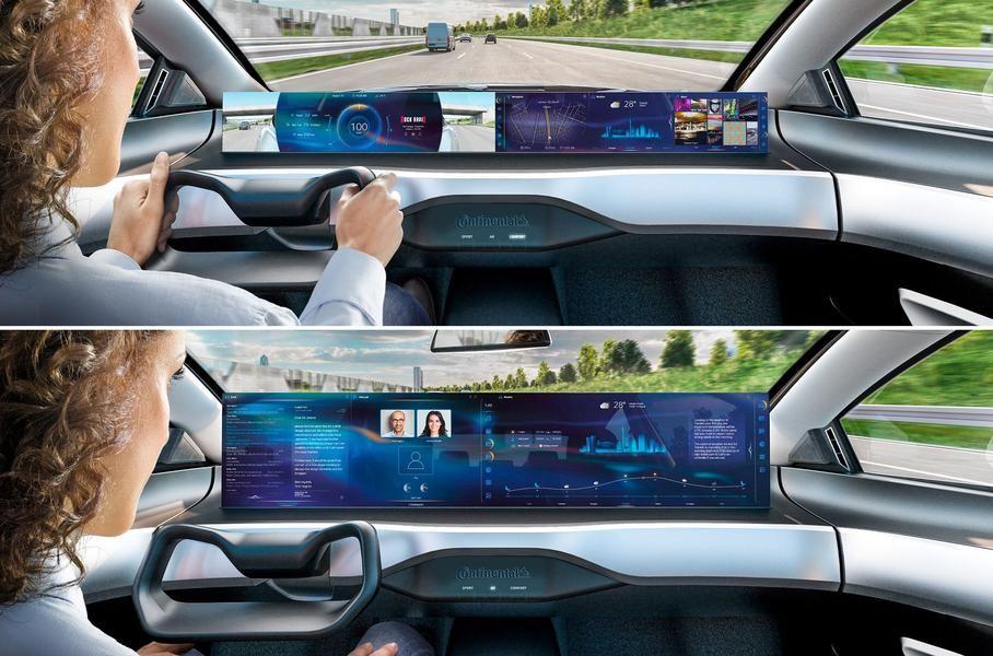 Contitental розробила кабіну майбутнього, у якій водій зможе відпочивати
