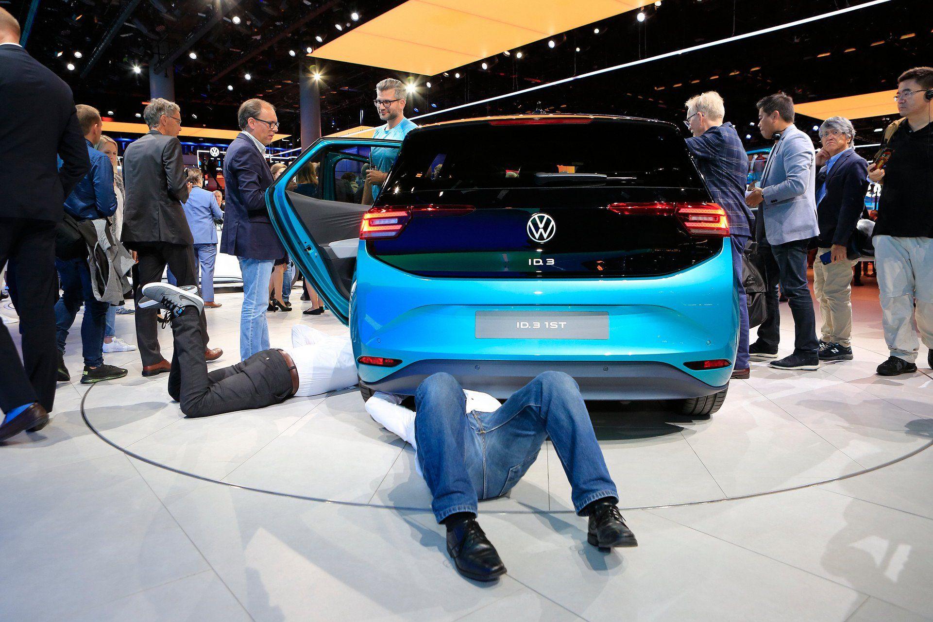 Електрокар, який змінює все: Volkswagen ID.3 презентований у Франкфурті