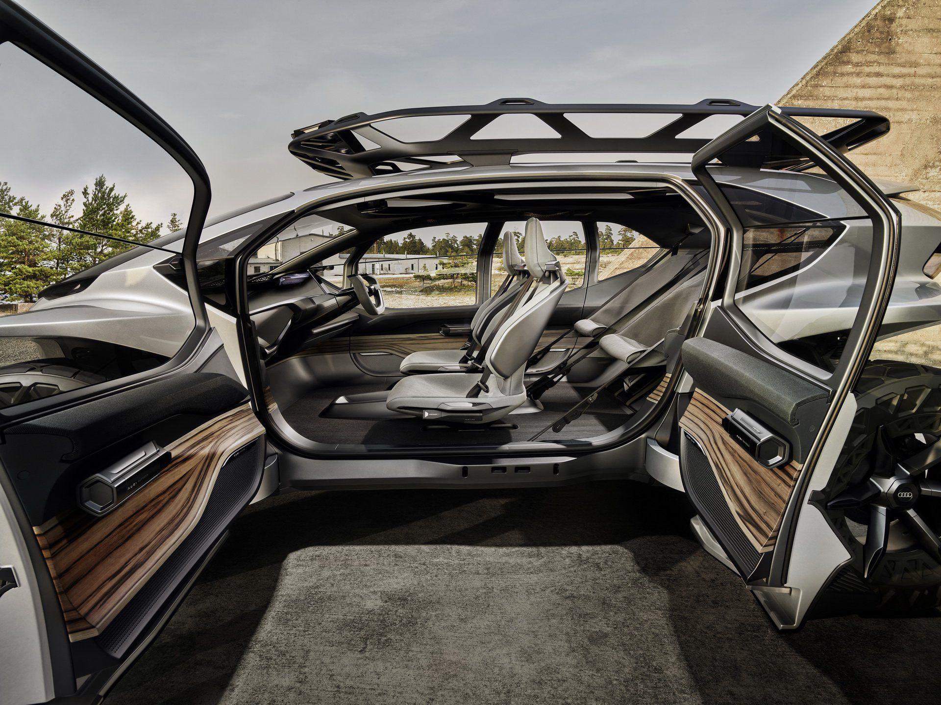 Audi AI TRAIL Quattro: фантастичний концепт енергійного позашляховика майбутнього