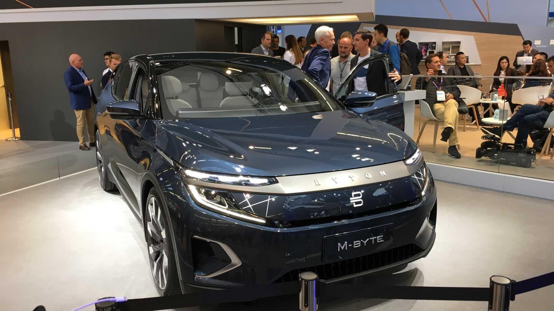 Не-кросовер на емоціях: марка Byton представила серійний електрокар M-Byte
