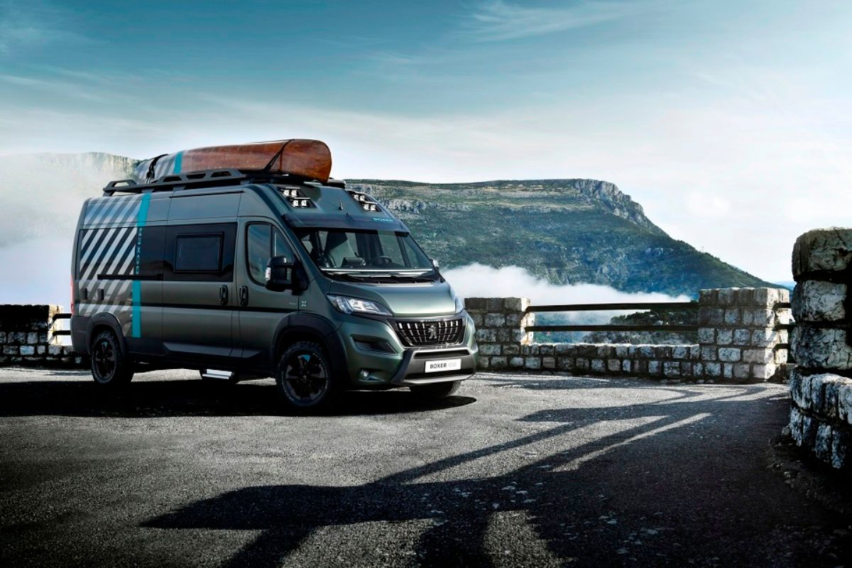 Peugeot Boxer 4x4 створений для авантюрних пригод