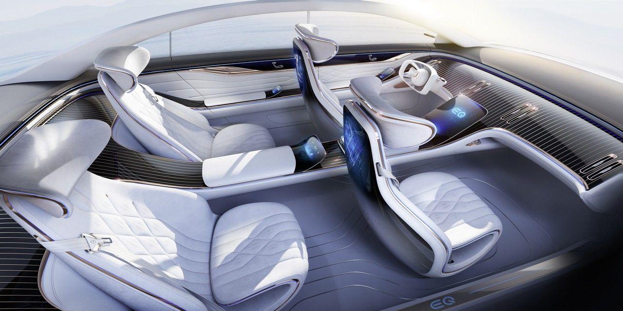 17 концептів Mercedes Vision, що дозволяють зазирнути в майбутнє