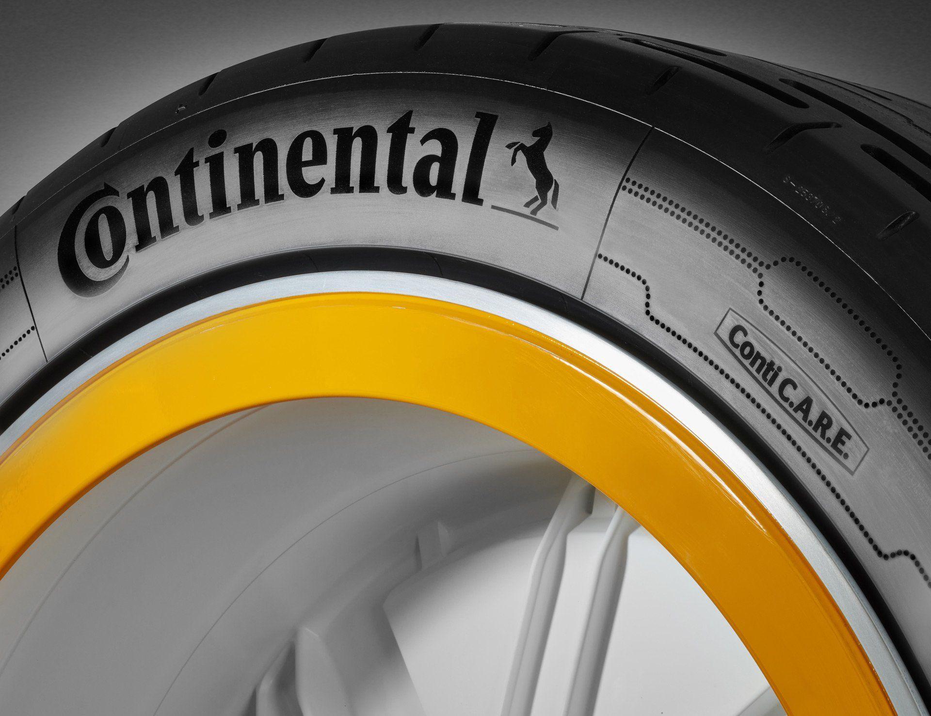 Continental представила колесо з Wi-Fi та Bluetooth, яке може підкачувати шину на ходу