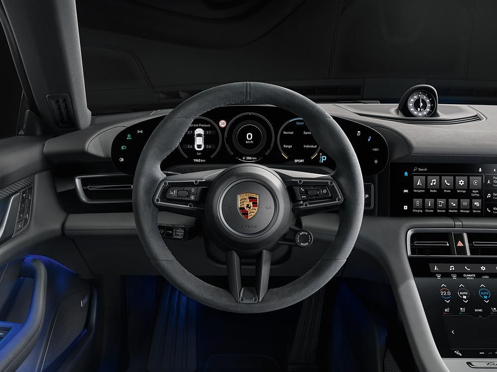 Porsche представила найдешевшу модифікацію Taycan з індексом 4S