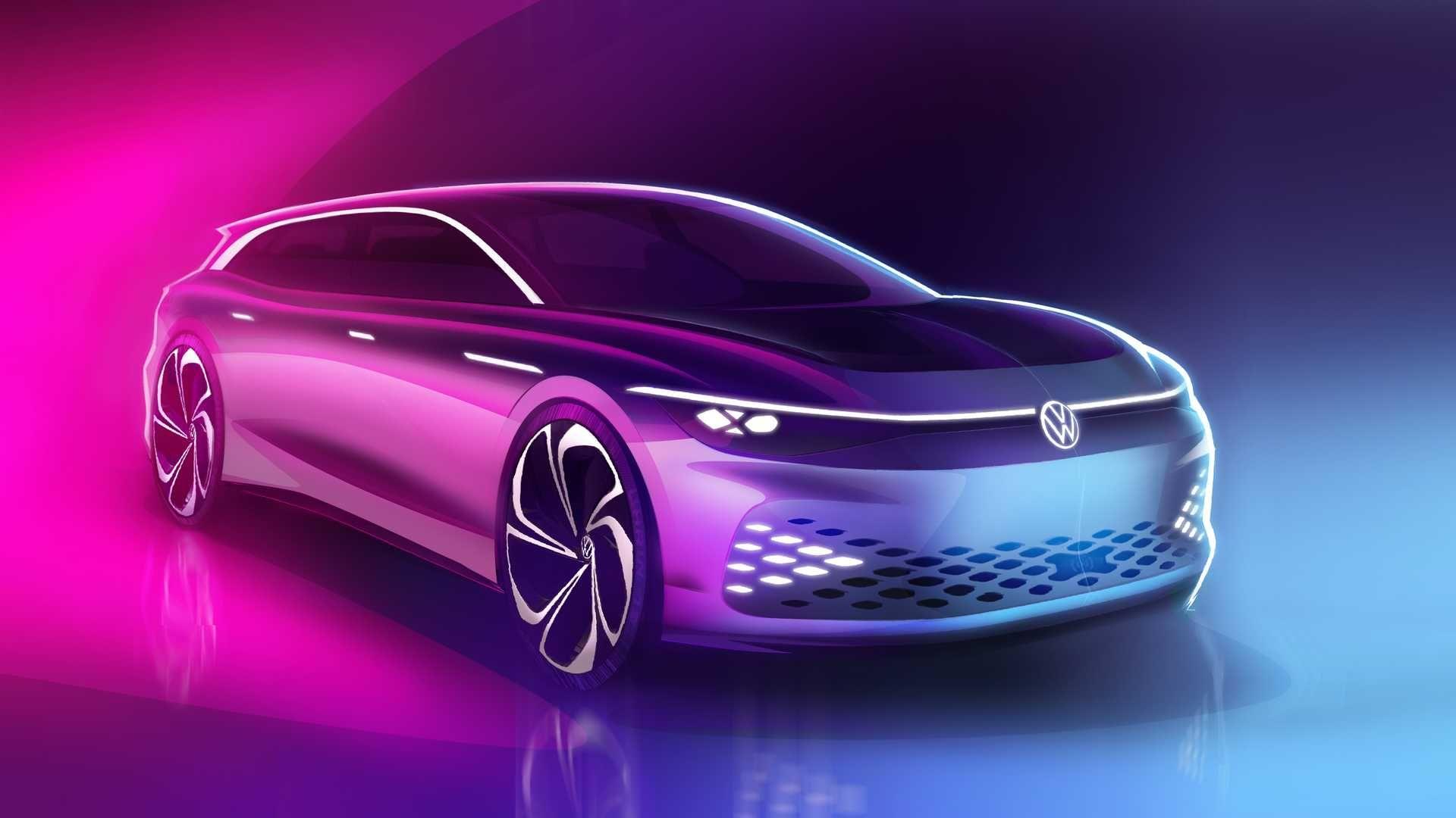 Електричний універсал Volkswagen ID Space Vizzion започаткує новий клас, коли стане серійним