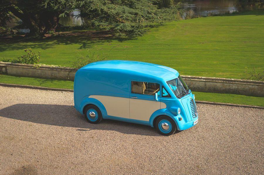 Британці випускатимуть електричний фургончик з кузовом 1940-х років –Morris Commercial JE