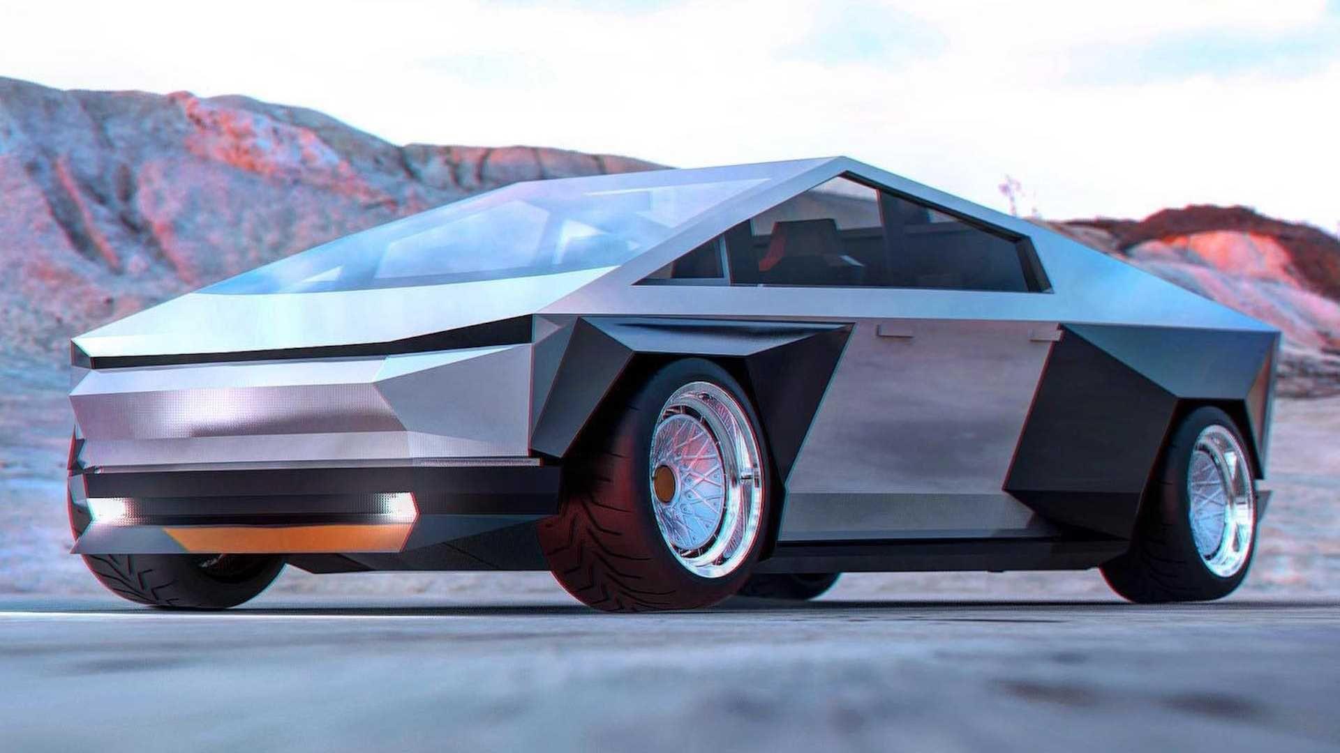 Тюнінг і віртуальний рестайлінг Tesla Cybertruck