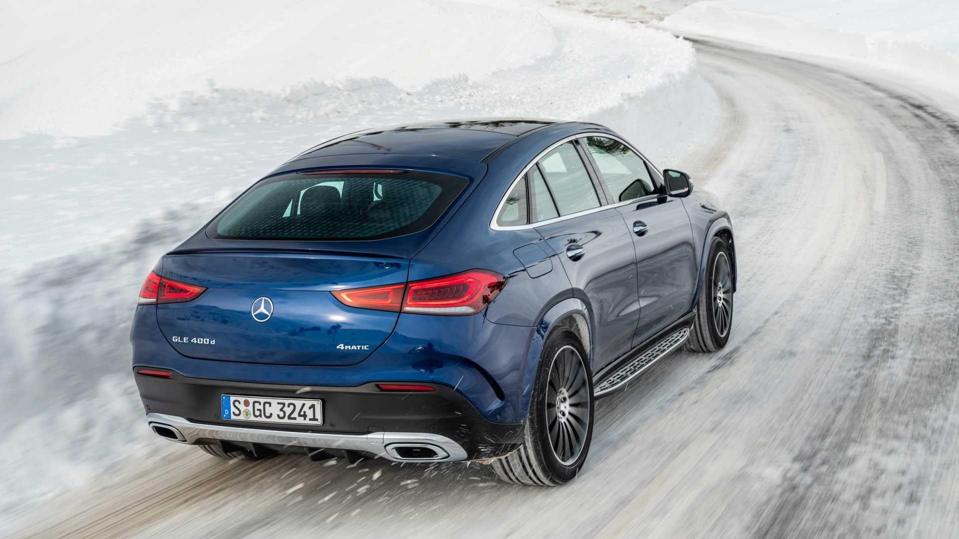 Mercedes-Benz GLE Coupe споживатиме лише 1 літр пального на 100 кілометрів