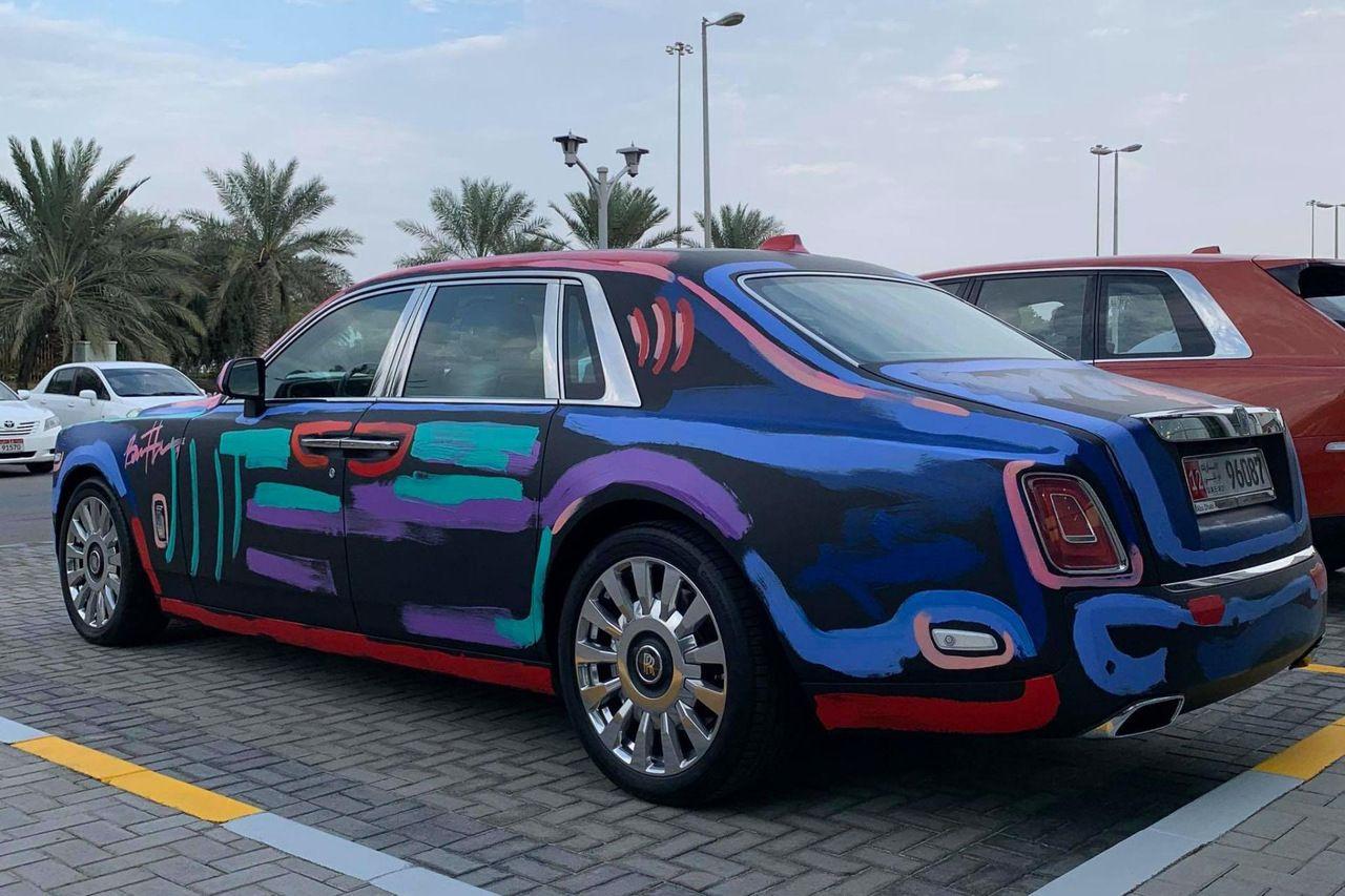 Погляньте, що зробив з Rolls-Royce Phantom художник-вандал