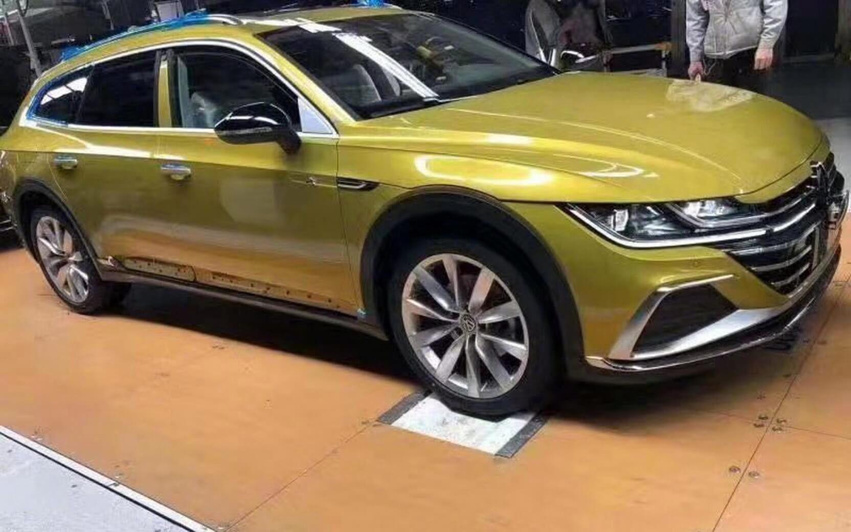 Volkswagen перетворив купеподібний седан на крос-універсал спеціально для Китаю