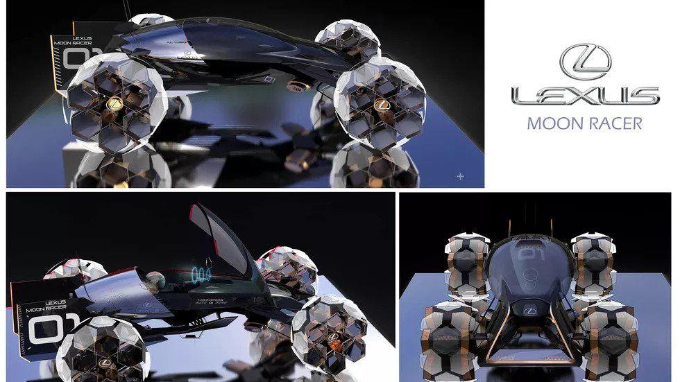 Дизайнери Lexus представили сім концептів транспорту для Місяця