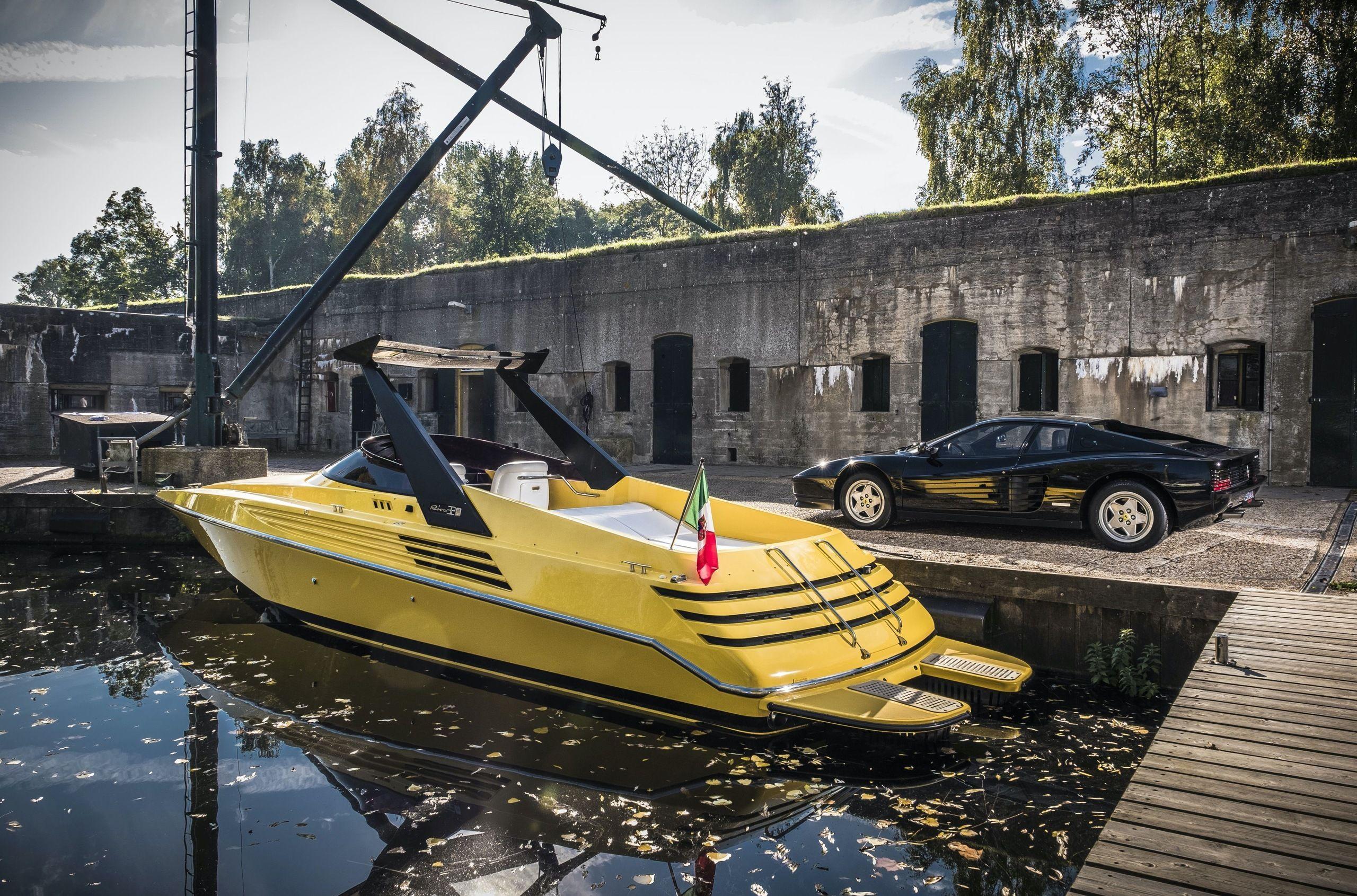 Суперкатер Riva 32 Ferrari виставили на торги, з оціночною вартістю більше 100 тисяч євро